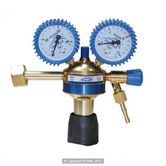 Reducirni ventil za kisik BLUE